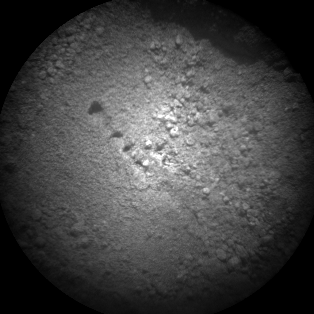 Nasa's Mars rover Curiosity acquired this image using its Chemistry & Camera (ChemCam) on Sol 97, at drive 104, site number 5