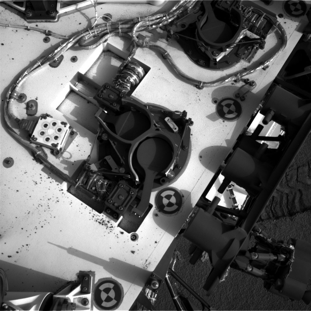 NASA's Mars rover Curiosity acquired this image using its Right Navigation Cameras (Navcams) on Sol 98