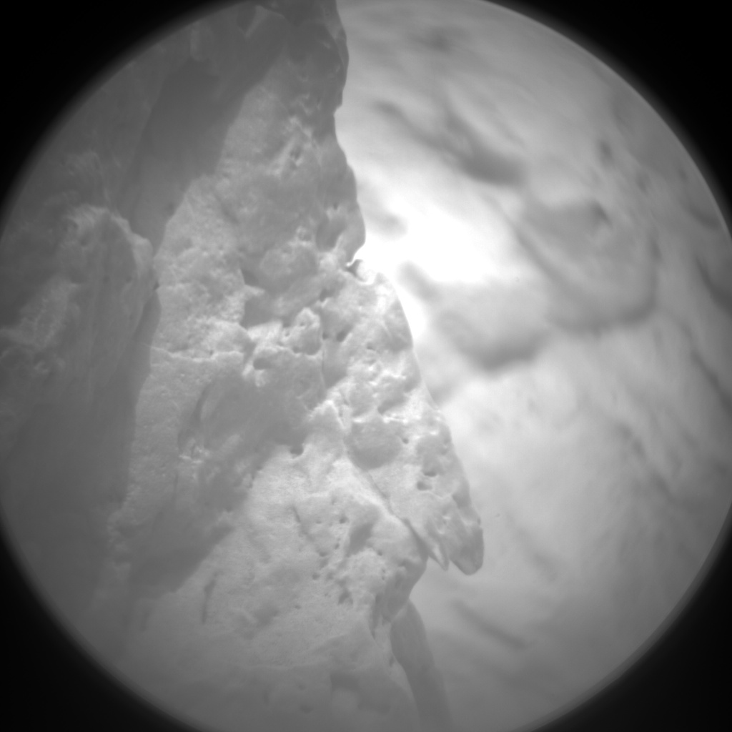 Nasa's Mars rover Curiosity acquired this image using its Chemistry & Camera (ChemCam) on Sol 100, at drive 104, site number 5