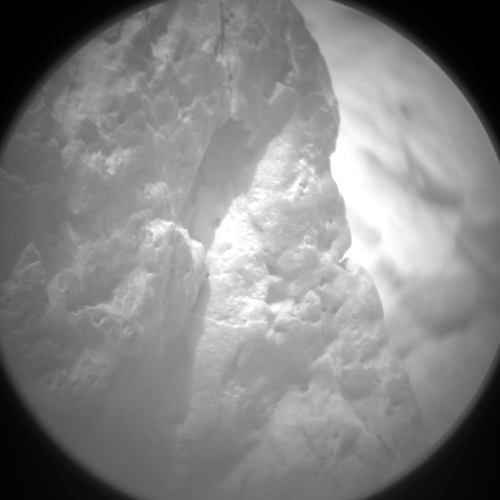 NASA's Mars rover Curiosity acquired this image using its Chemistry & Camera (ChemCam) on Sol 100