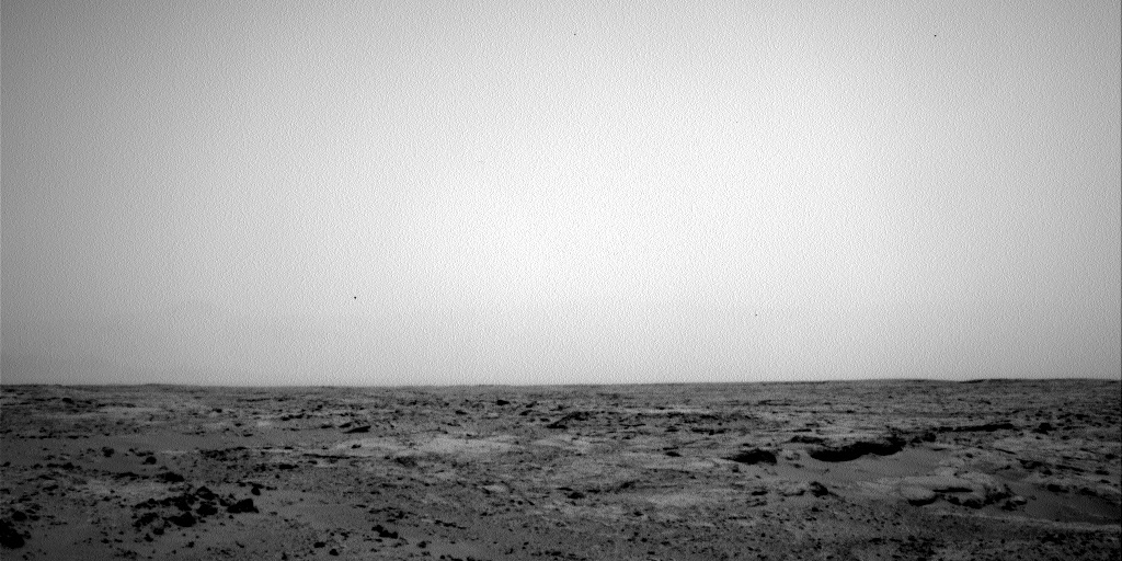 NASA's Mars rover Curiosity acquired this image using its Left Navigation Camera (Navcams) on Sol 100