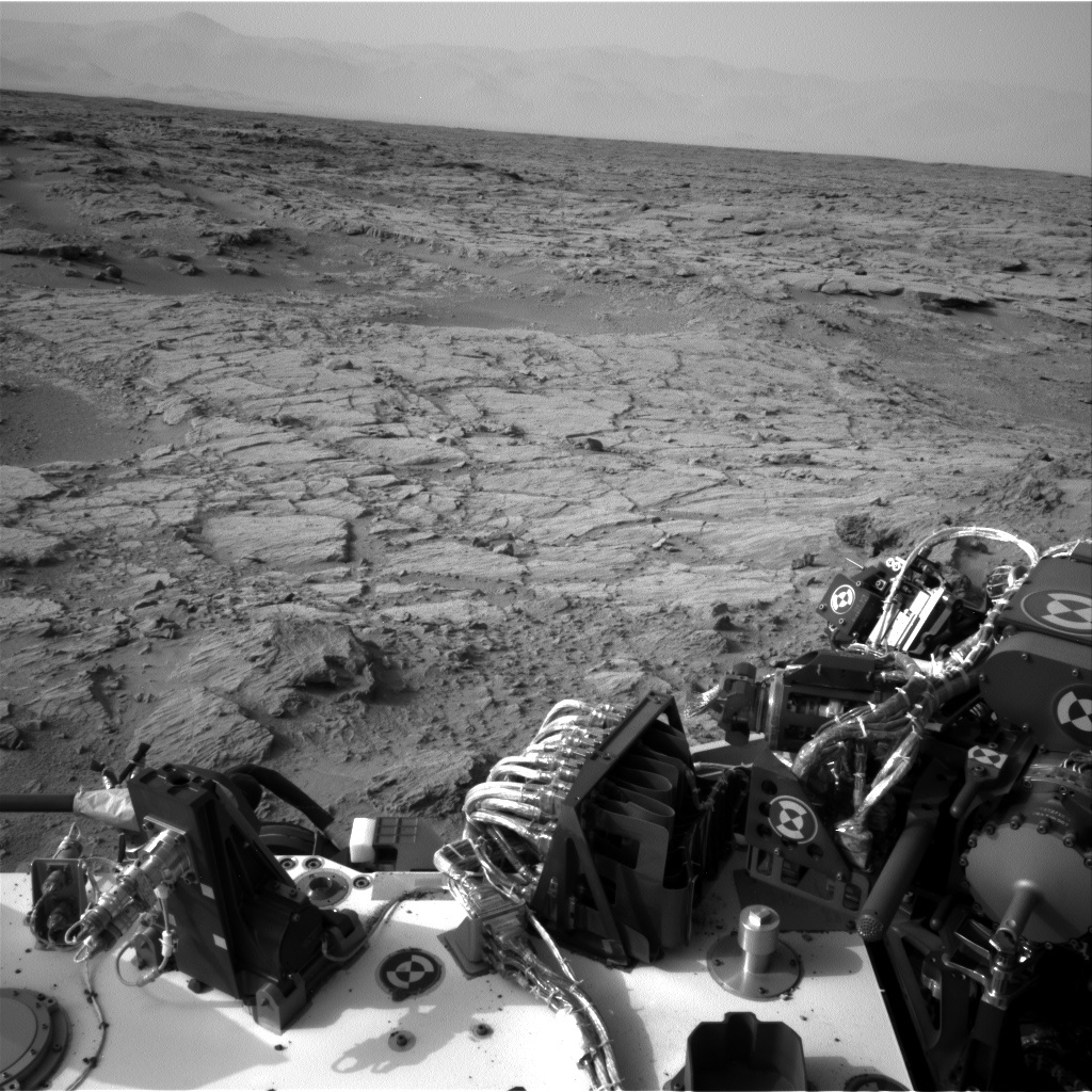 NASA's Mars rover Curiosity acquired this image using its Left Navigation Camera (Navcams) on Sol 102