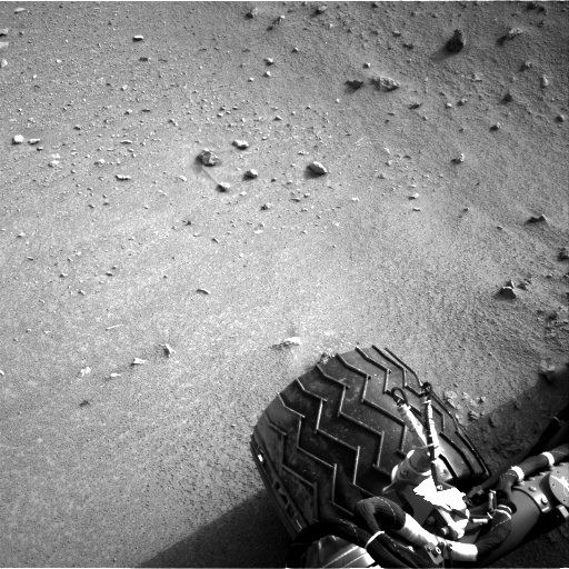 NASA's Mars rover Curiosity acquired this image using its Right Navigation Cameras (Navcams) on Sol 102