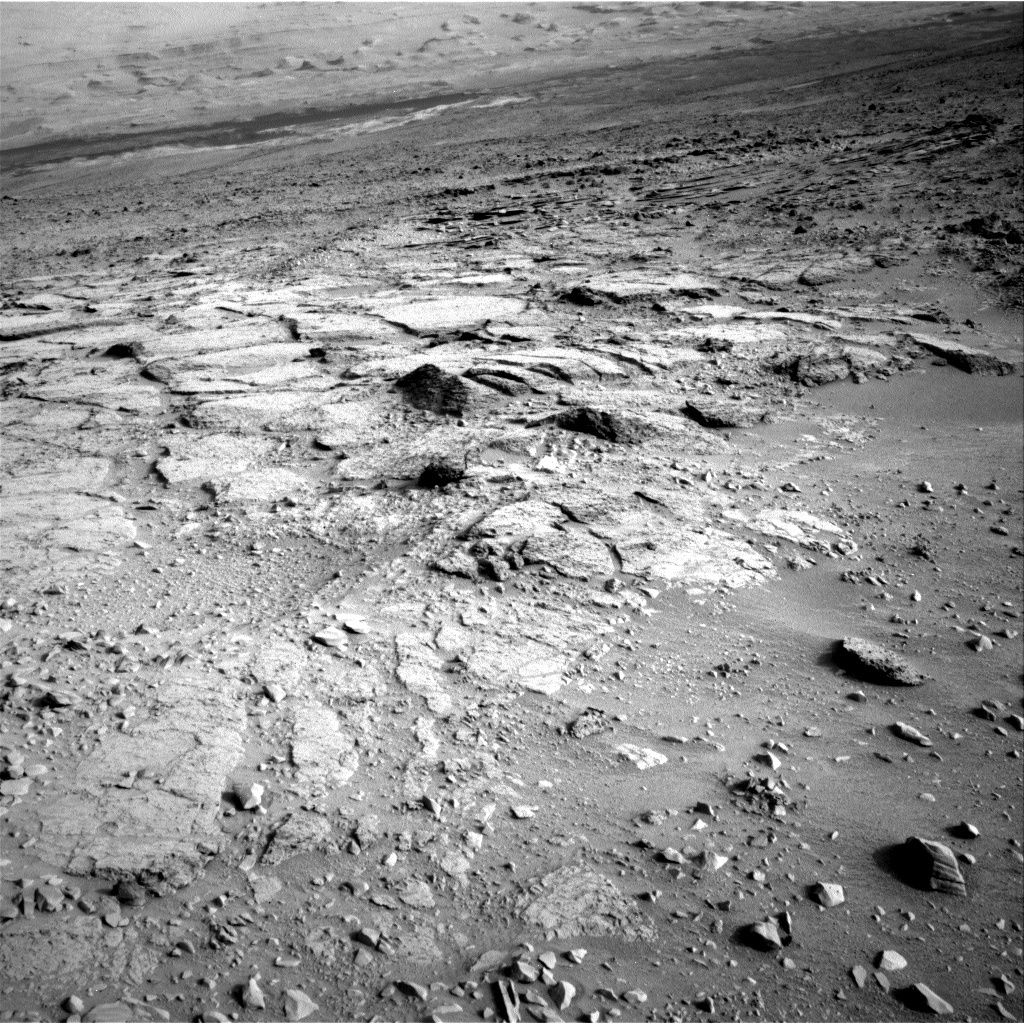 NASA's Mars rover Curiosity acquired this image using its Left Navigation Camera (Navcams) on Sol 103