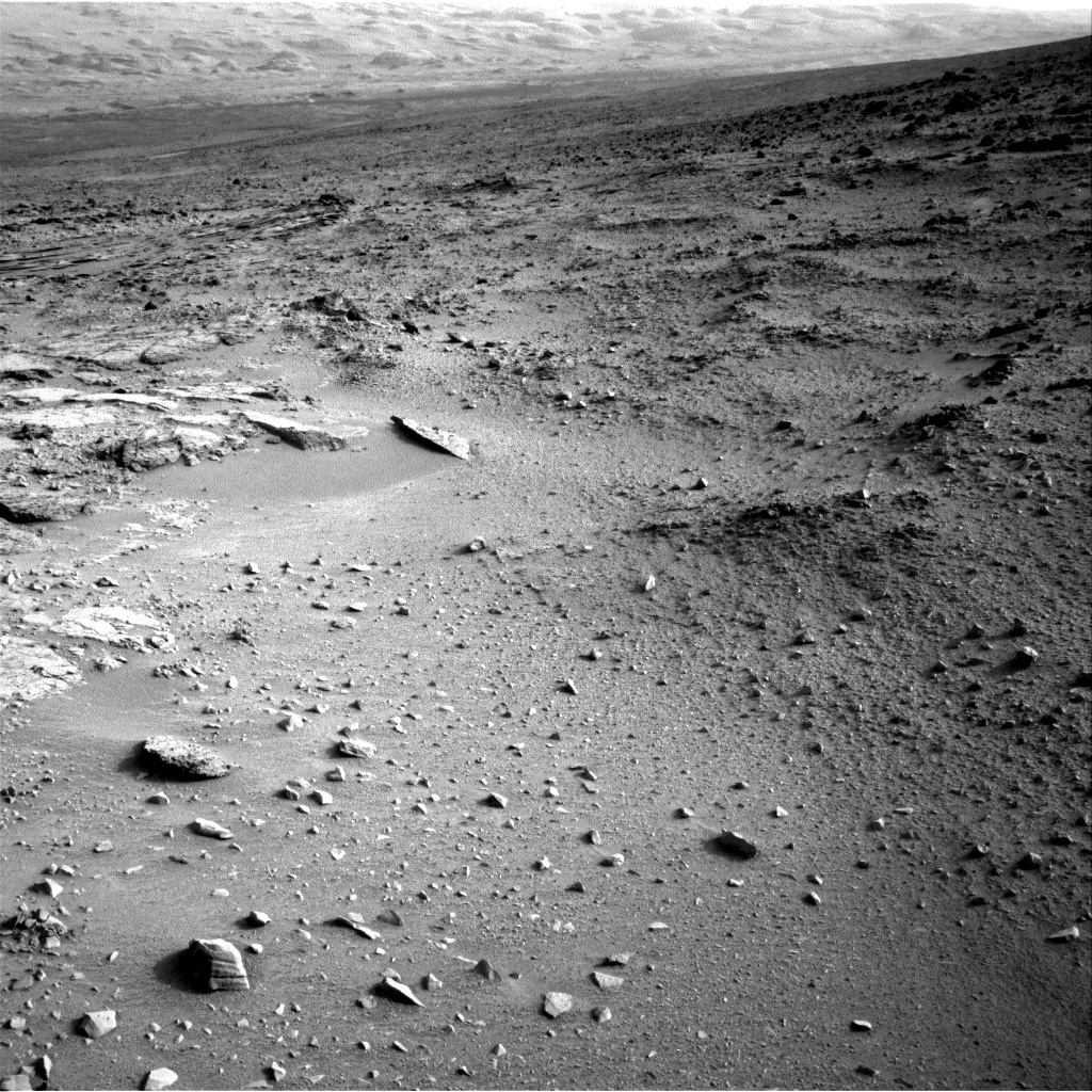 NASA's Mars rover Curiosity acquired this image using its Right Navigation Cameras (Navcams) on Sol 103