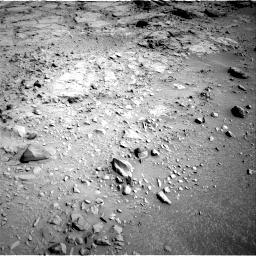 NASA's Mars rover Curiosity acquired this image using its Left Navigation Camera (Navcams) on Sol 111