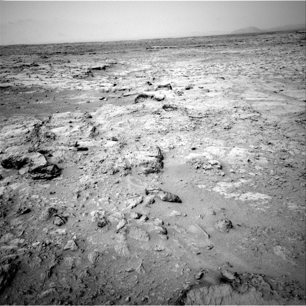 NASA's Mars rover Curiosity acquired this image using its Right Navigation Cameras (Navcams) on Sol 111