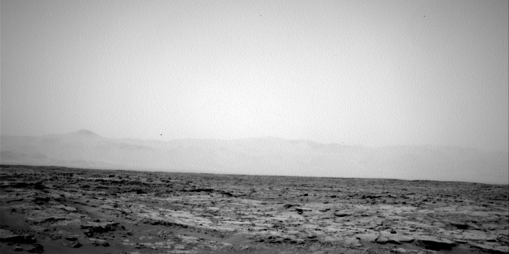 NASA's Mars rover Curiosity acquired this image using its Left Navigation Camera (Navcams) on Sol 112