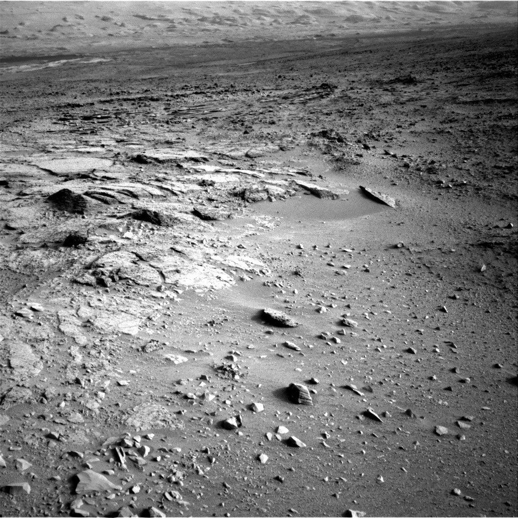 NASA's Mars rover Curiosity acquired this image using its Left Navigation Camera (Navcams) on Sol 113