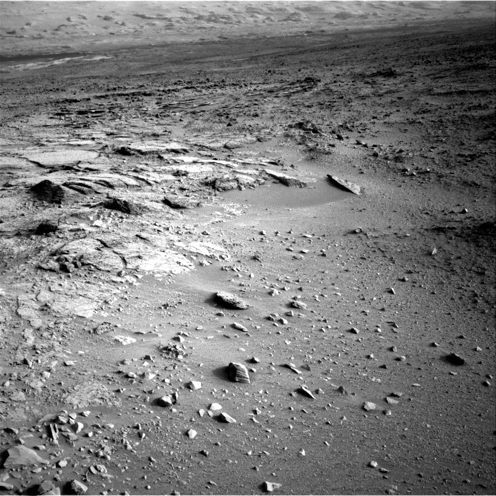 NASA's Mars rover Curiosity acquired this image using its Right Navigation Cameras (Navcams) on Sol 113