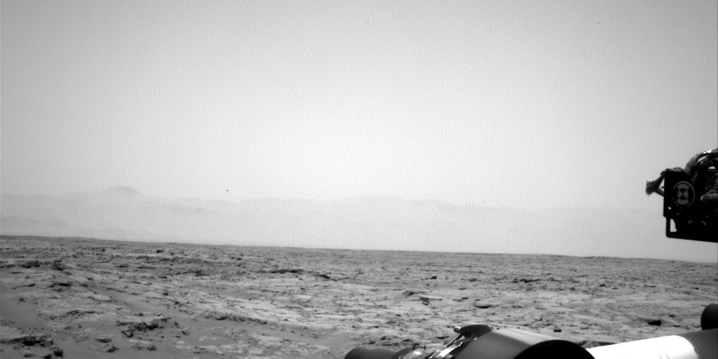 NASA's Mars rover Curiosity acquired this image using its Left Navigation Camera (Navcams) on Sol 114