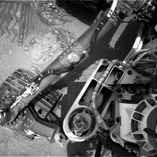 NASA's Mars rover Curiosity acquired this image using its Left Navigation Camera (Navcams) on Sol 115