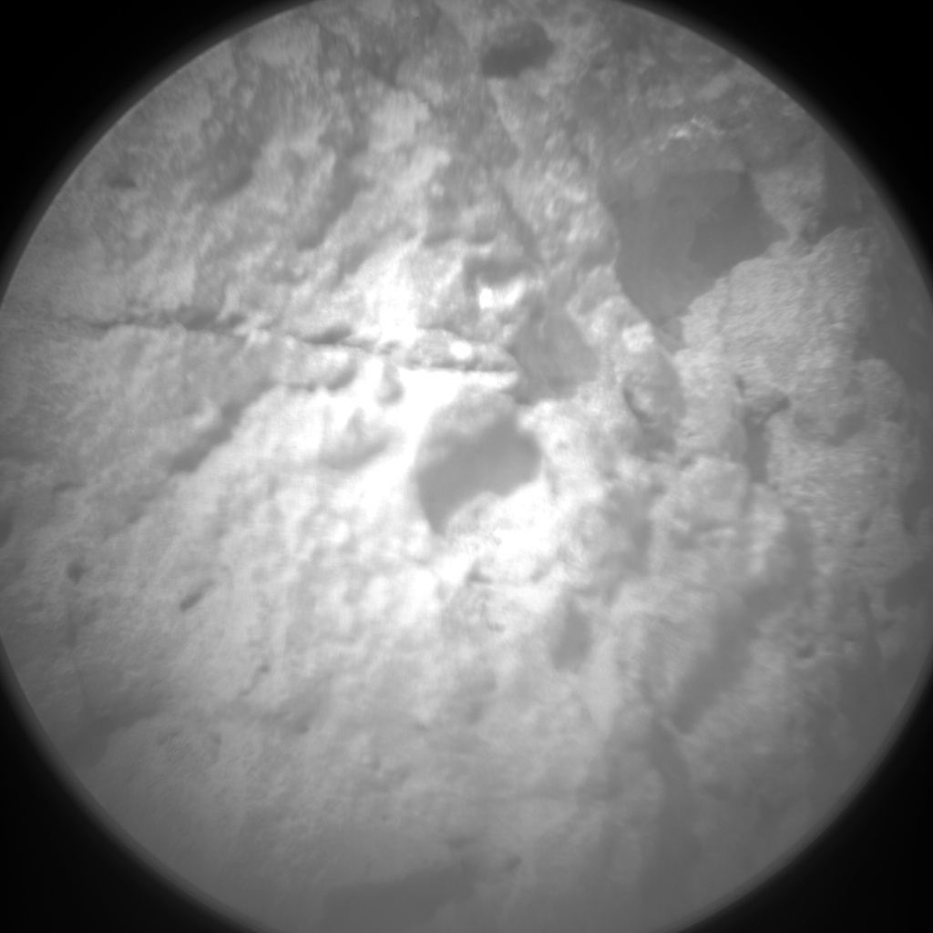 NASA's Mars rover Curiosity acquired this image using its Chemistry & Camera (ChemCam) on Sol 116