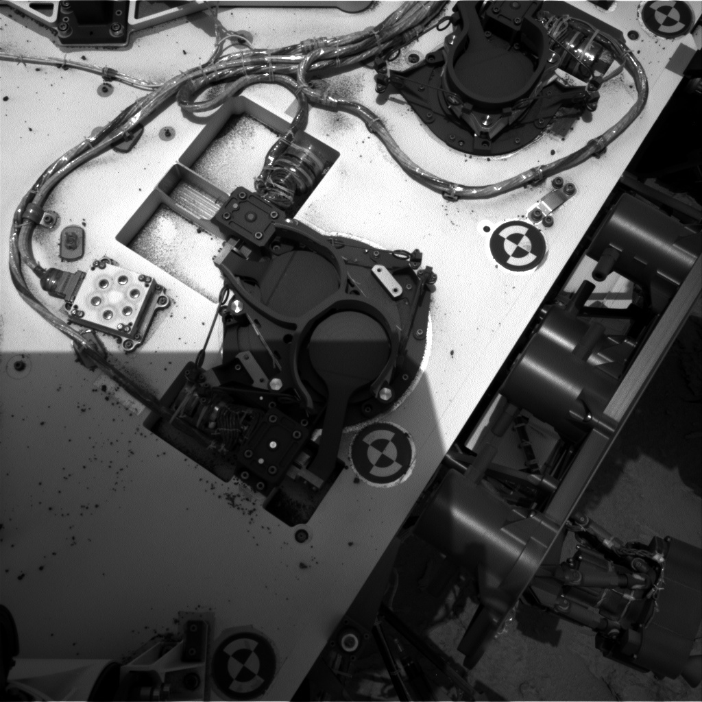 NASA's Mars rover Curiosity acquired this image using its Right Navigation Cameras (Navcams) on Sol 116