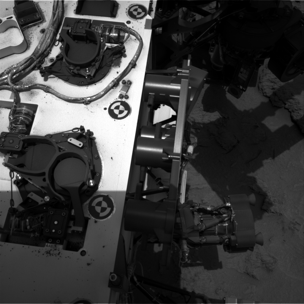 NASA's Mars rover Curiosity acquired this image using its Right Navigation Cameras (Navcams) on Sol 117