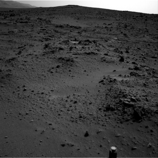 NASA's Mars rover Curiosity acquired this image using its Left Navigation Camera (Navcams) on Sol 118