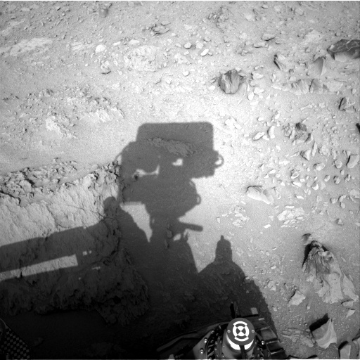 NASA's Mars rover Curiosity acquired this image using its Right Navigation Cameras (Navcams) on Sol 118