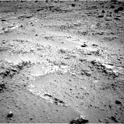 NASA's Mars rover Curiosity acquired this image using its Left Navigation Camera (Navcams) on Sol 120