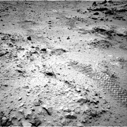 NASA's Mars rover Curiosity acquired this image using its Right Navigation Cameras (Navcams) on Sol 120