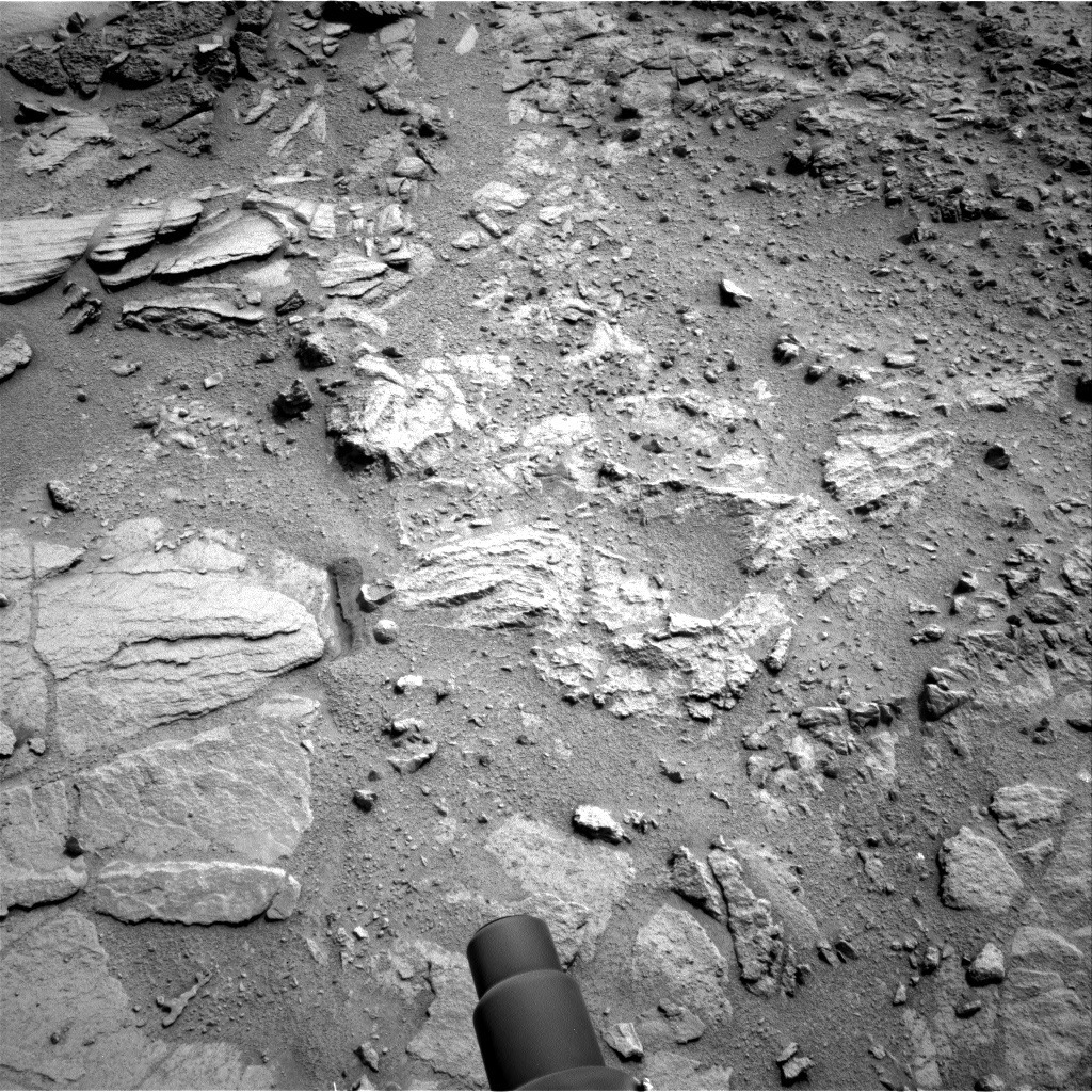 NASA's Mars rover Curiosity acquired this image using its Left Navigation Camera (Navcams) on Sol 121