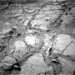 NASA's Mars rover Curiosity acquired this image using its Right Navigation Cameras (Navcams) on Sol 121
