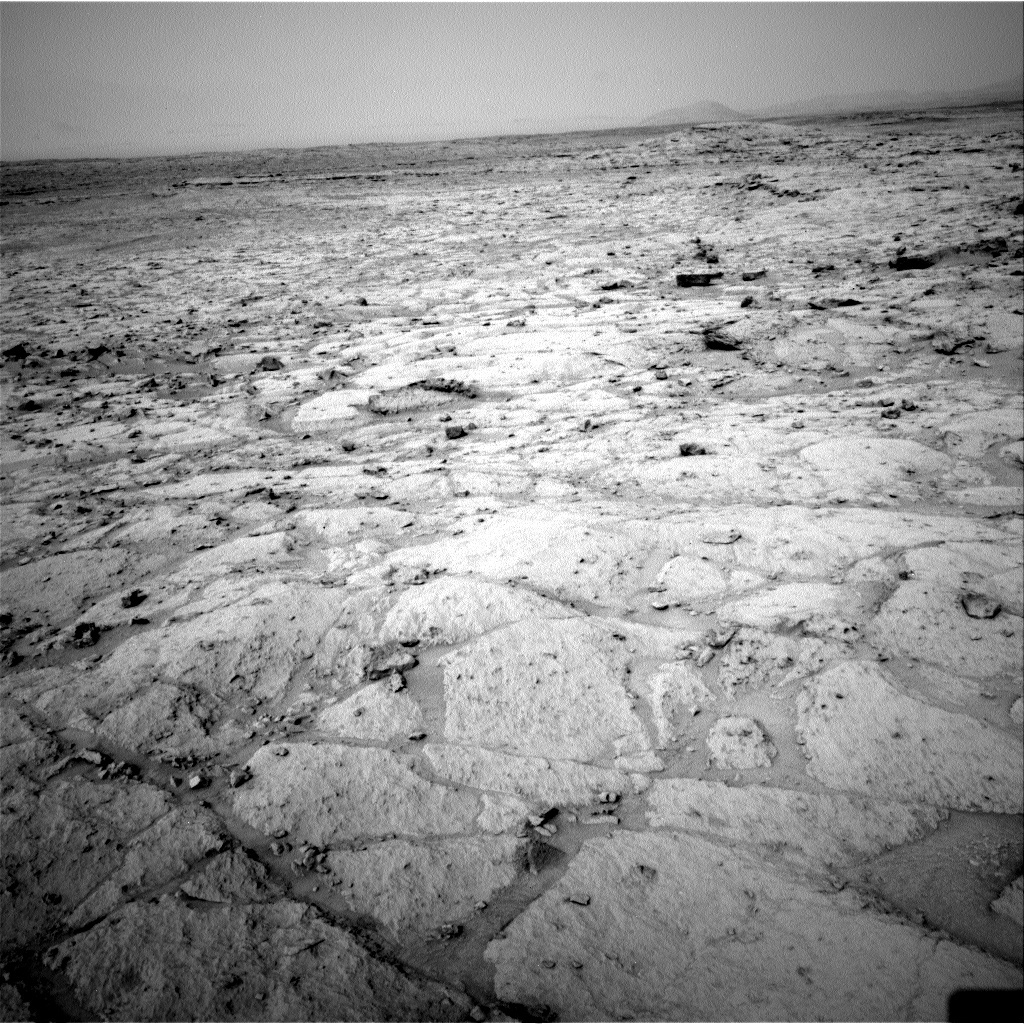 NASA's Mars rover Curiosity acquired this image using its Left Navigation Camera (Navcams) on Sol 122