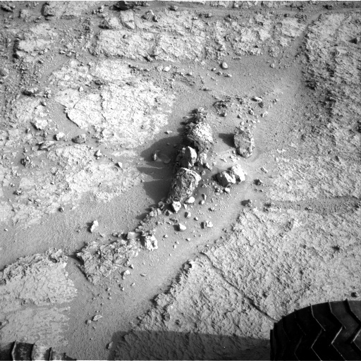 NASA's Mars rover Curiosity acquired this image using its Right Navigation Cameras (Navcams) on Sol 122