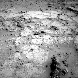 NASA's Mars rover Curiosity acquired this image using its Left Navigation Camera (Navcams) on Sol 123