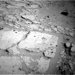 NASA's Mars rover Curiosity acquired this image using its Right Navigation Cameras (Navcams) on Sol 123