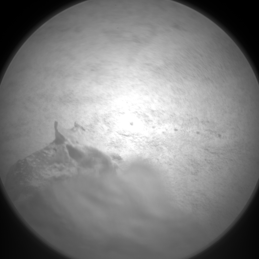 Nasa's Mars rover Curiosity acquired this image using its Chemistry & Camera (ChemCam) on Sol 124, at drive 1070, site number 5