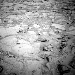 NASA's Mars rover Curiosity acquired this image using its Right Navigation Cameras (Navcams) on Sol 124