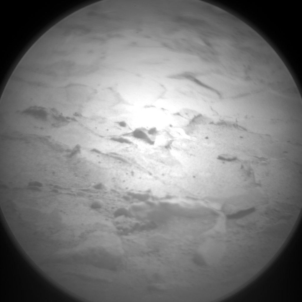 NASA's Mars rover Curiosity acquired this image using its Chemistry & Camera (ChemCam) on Sol 125