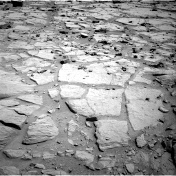 NASA's Mars rover Curiosity acquired this image using its Left Navigation Camera (Navcams) on Sol 125