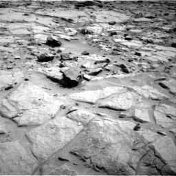 NASA's Mars rover Curiosity acquired this image using its Right Navigation Cameras (Navcams) on Sol 125