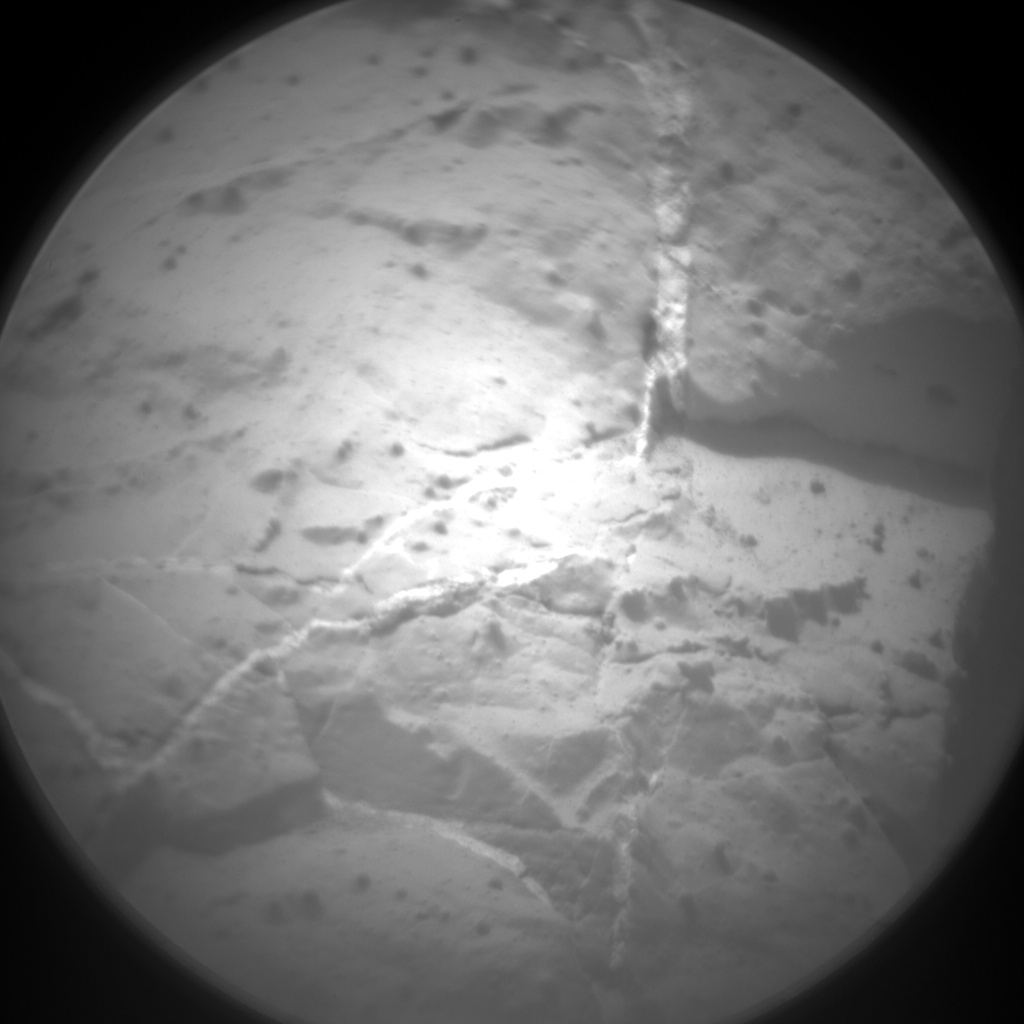 Nasa's Mars rover Curiosity acquired this image using its Chemistry & Camera (ChemCam) on Sol 126, at drive 1398, site number 5