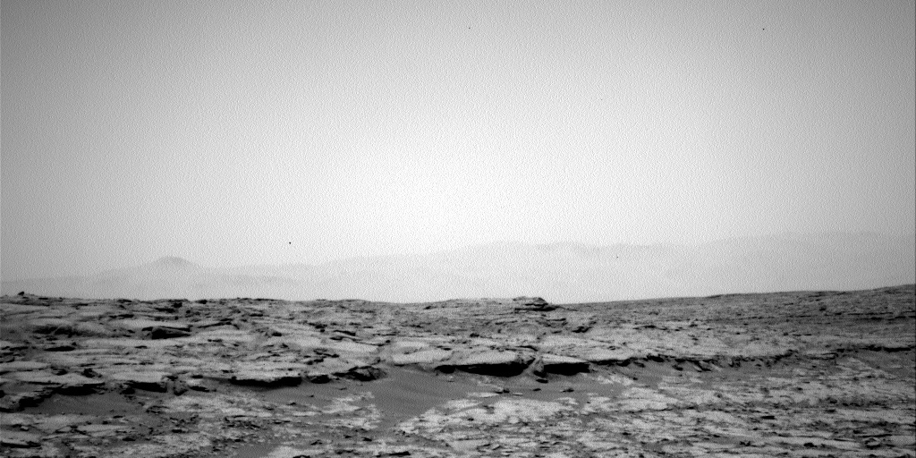 NASA's Mars rover Curiosity acquired this image using its Left Navigation Camera (Navcams) on Sol 126
