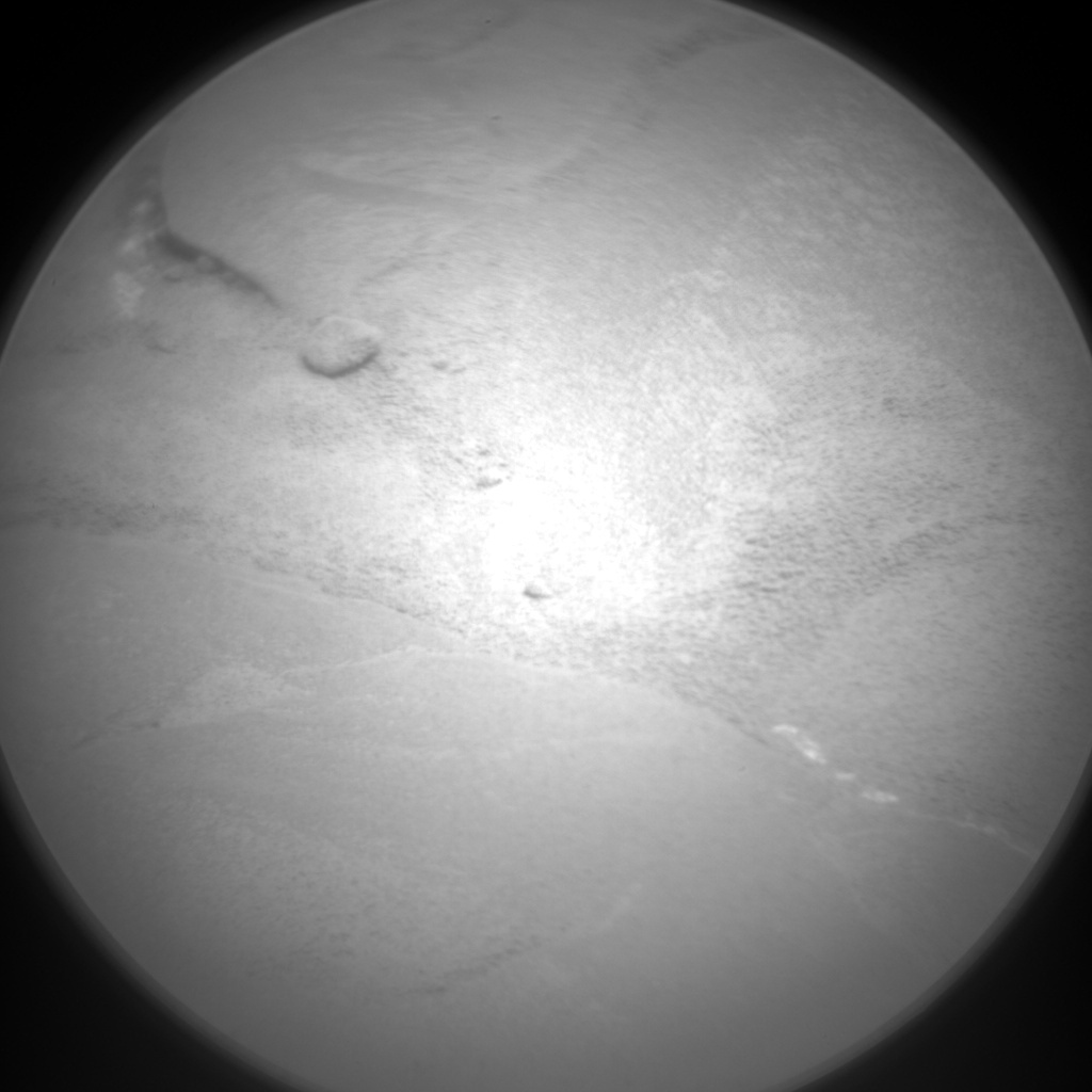 NASA's Mars rover Curiosity acquired this image using its Chemistry & Camera (ChemCam) on Sol 127