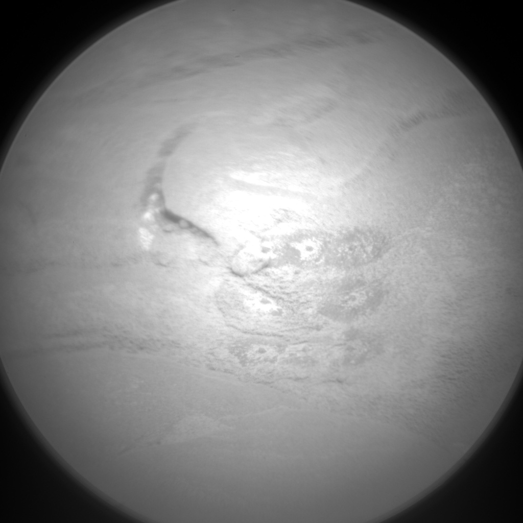Nasa's Mars rover Curiosity acquired this image using its Chemistry & Camera (ChemCam) on Sol 127, at drive 1398, site number 5
