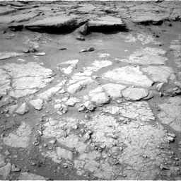 NASA's Mars rover Curiosity acquired this image using its Left Navigation Camera (Navcams) on Sol 127