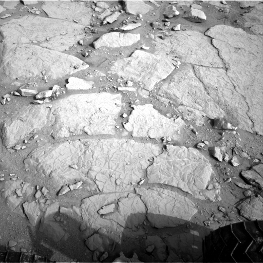NASA's Mars rover Curiosity acquired this image using its Right Navigation Cameras (Navcams) on Sol 127