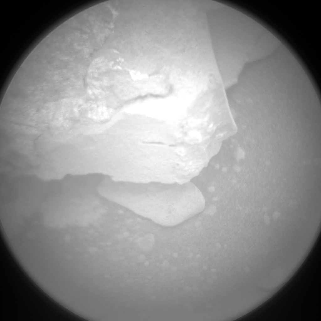 Nasa's Mars rover Curiosity acquired this image using its Chemistry & Camera (ChemCam) on Sol 129, at drive 1576, site number 5