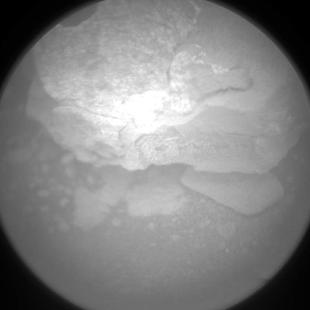 NASA's Mars rover Curiosity acquired this image using its Chemistry & Camera (ChemCam) on Sol 129