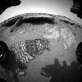 Image taken by Front Hazcam: Left A