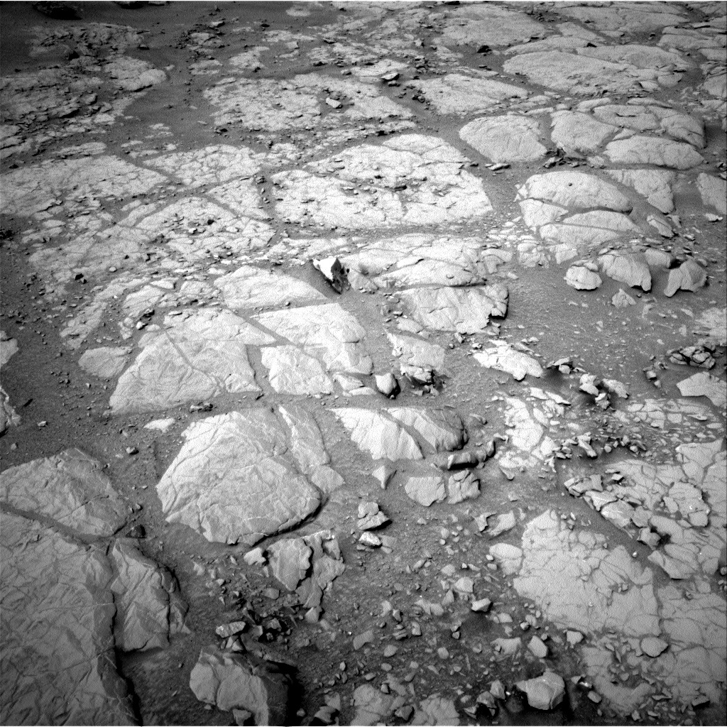 NASA's Mars rover Curiosity acquired this image using its Left Navigation Camera (Navcams) on Sol 130