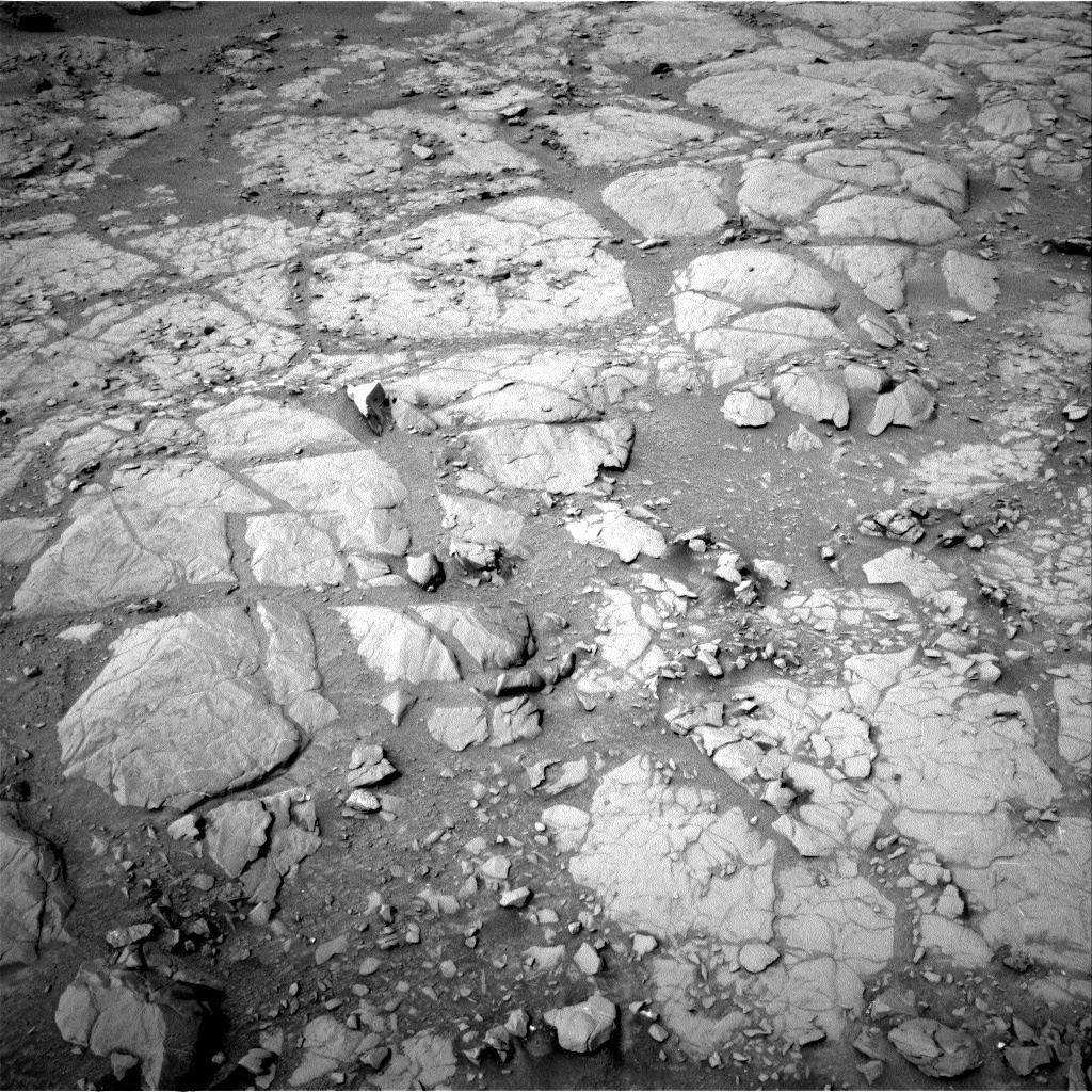 NASA's Mars rover Curiosity acquired this image using its Right Navigation Cameras (Navcams) on Sol 130