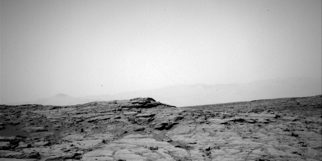 NASA's Mars rover Curiosity acquired this image using its Left Navigation Camera (Navcams) on Sol 131