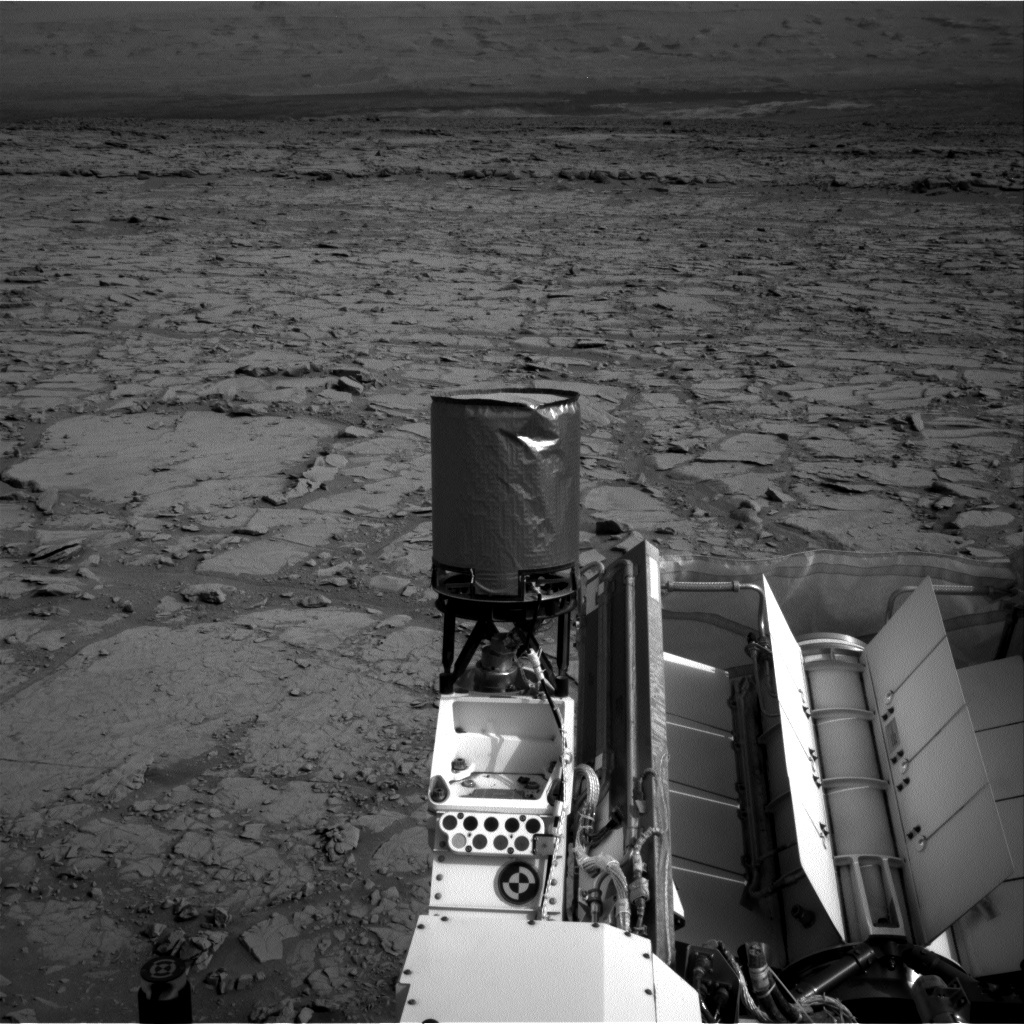 NASA's Mars rover Curiosity acquired this image using its Right Navigation Cameras (Navcams) on Sol 131