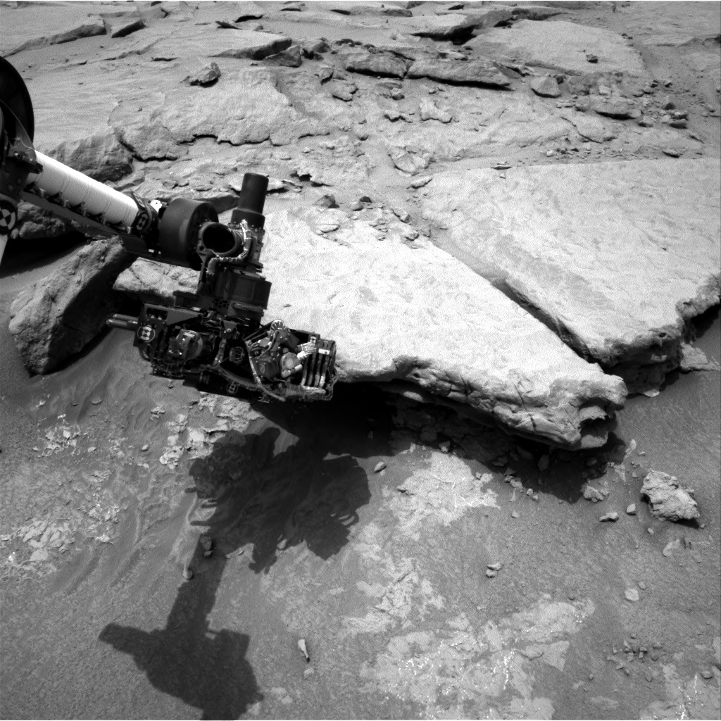 NASA's Mars rover Curiosity acquired this image using its Right Navigation Cameras (Navcams) on Sol 132