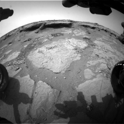 NASA's Mars rover Curiosity acquired this image using its Front Hazard Avoidance Cameras (Front Hazcams) on Sol 133