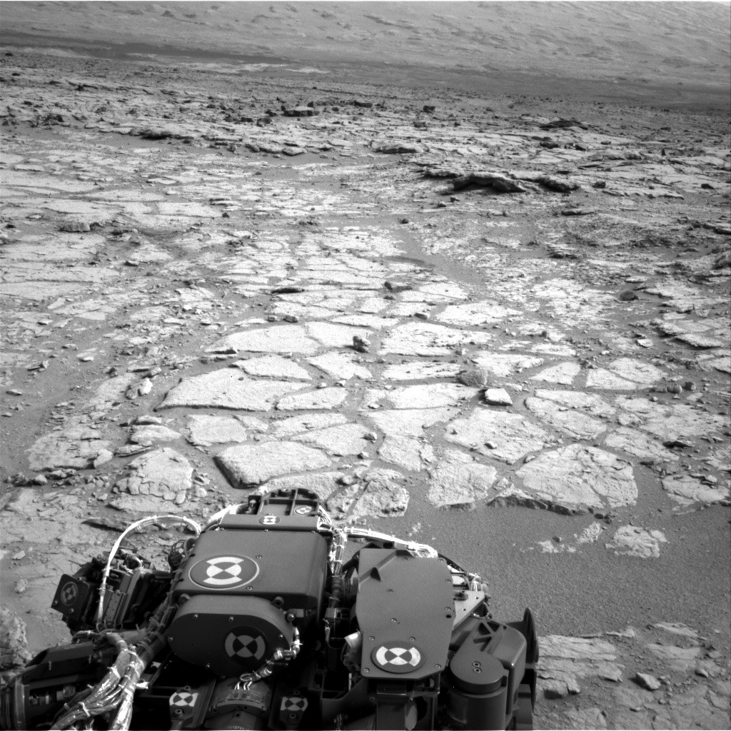 NASA's Mars rover Curiosity acquired this image using its Left Navigation Camera (Navcams) on Sol 133